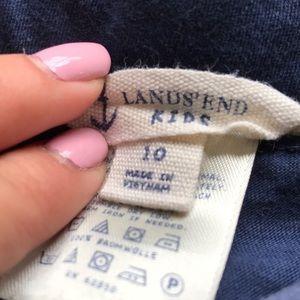 Lands' End Bottoms - Lands End Girls Ruffle Skirt